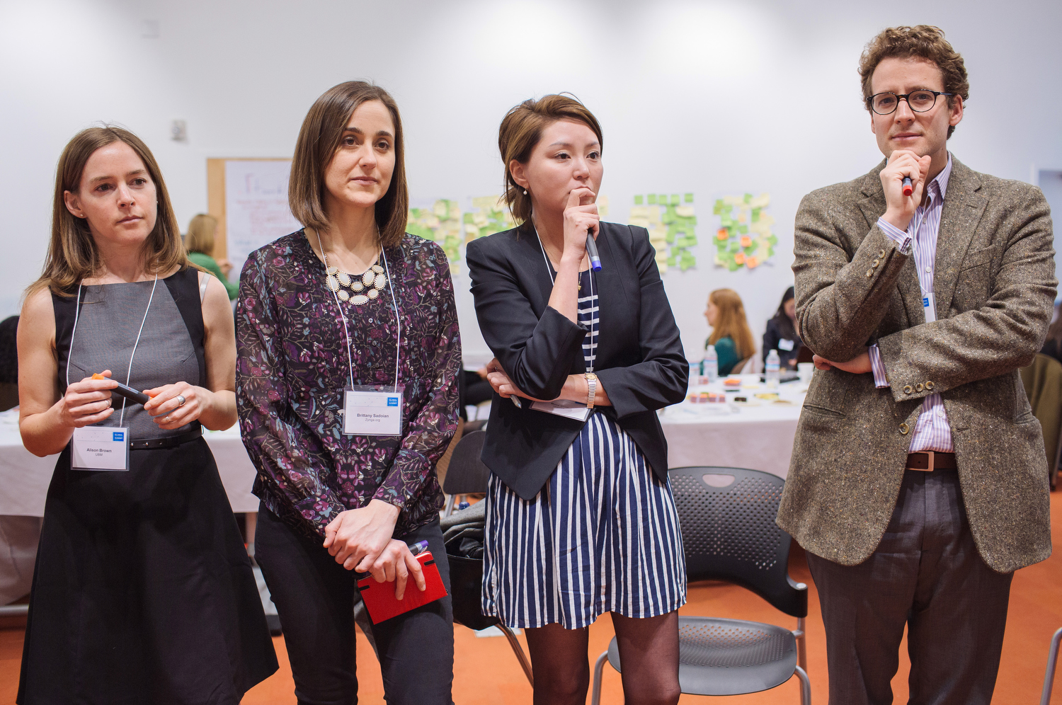 Brainstorming at the 2014 Global Pro Bono Summit in San Francisco on Feb. 26, 2014.