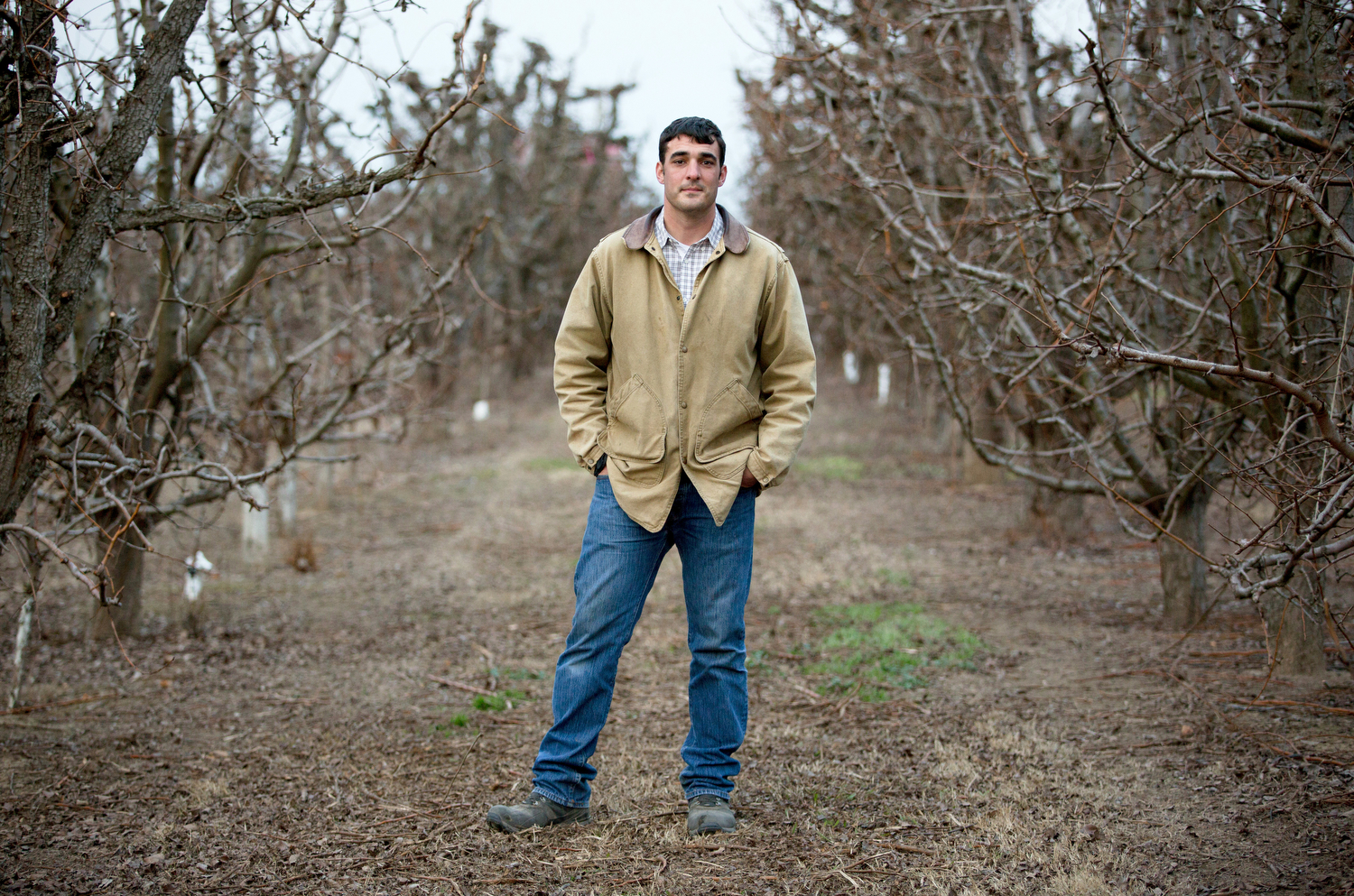 Brett Baker  Baker's family has been growing pears and other crops on Steamboat Slough near Sacramento since the mid-1800s.