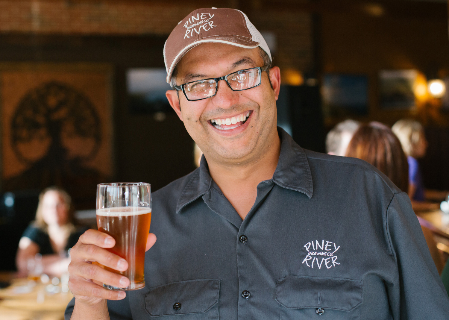 Brian Durham, owner and brewer at Piney River Brewing Company