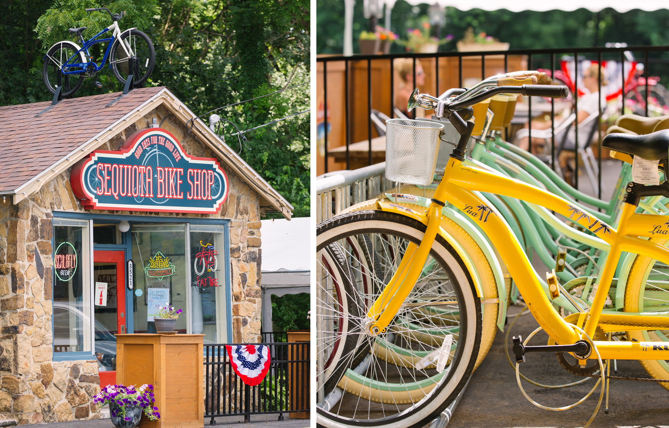 The Sequiota Bike Shop in Springfield, Mo. photographed on June 28, 2016. Photos by Brad Zweerink.