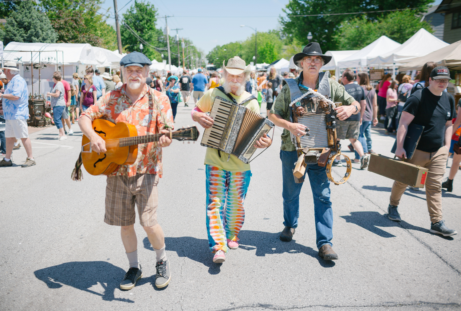 Artsfest on Walnut Street in Springfield, Mo. on May 6, 2017 in Springfield, Mo. Photo by Brad Zweerink.