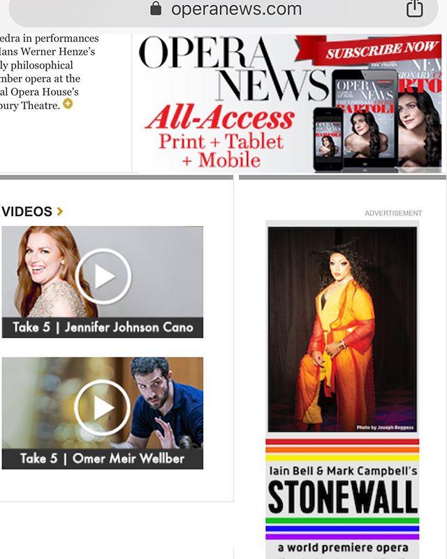Momentus @opera.news . . . . . . . . . . . . . . . . #drag #opera #operanews #operasinger #josephboggess @josephboggess2197 @nycopera