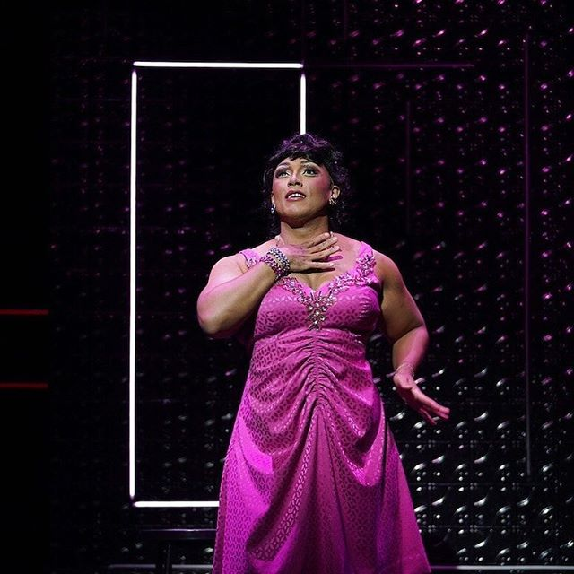 "📸 @sarahshatzie as Renata in New York City Opera's world premiere opera ""Stonewall"" by Iain Bell and Mark Campbell. My principal artist debut.  @nycopera @nytimes"