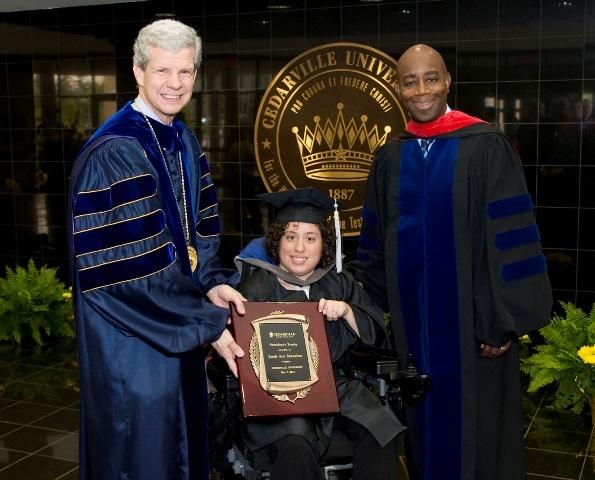 May 7, 2011: Dr. Brown, President of Cedarville University andChaplainBarry C.Black of US Senate