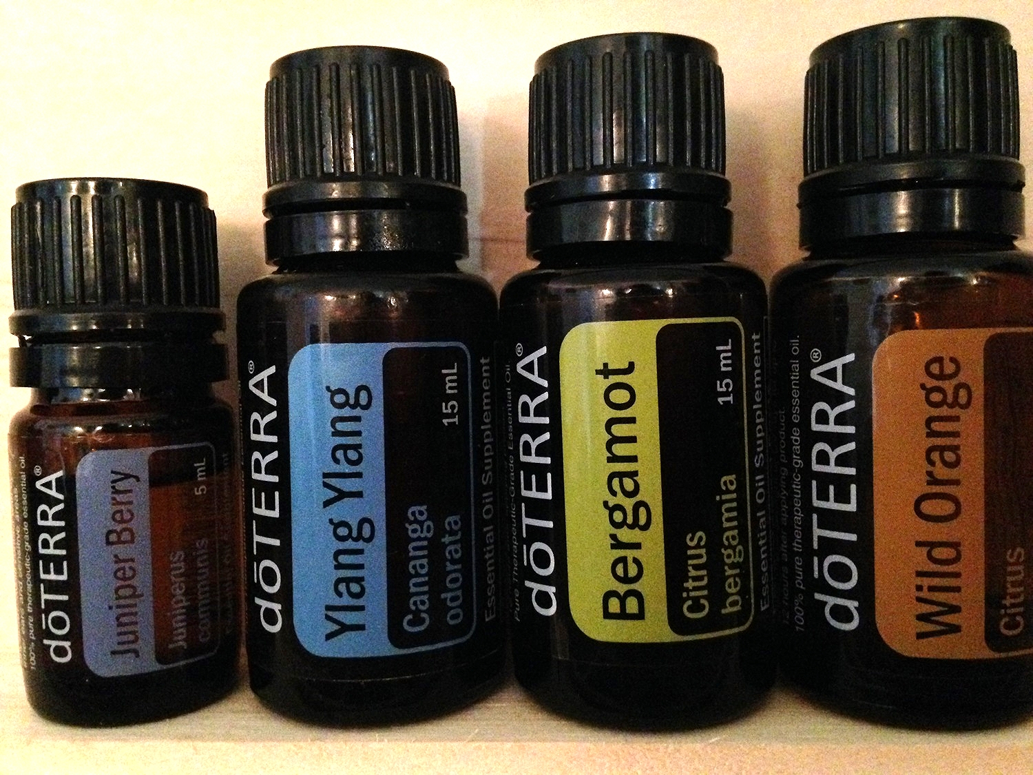 *I use all doTERRA essential oils because they are certified pure organic and therapeutic grade*