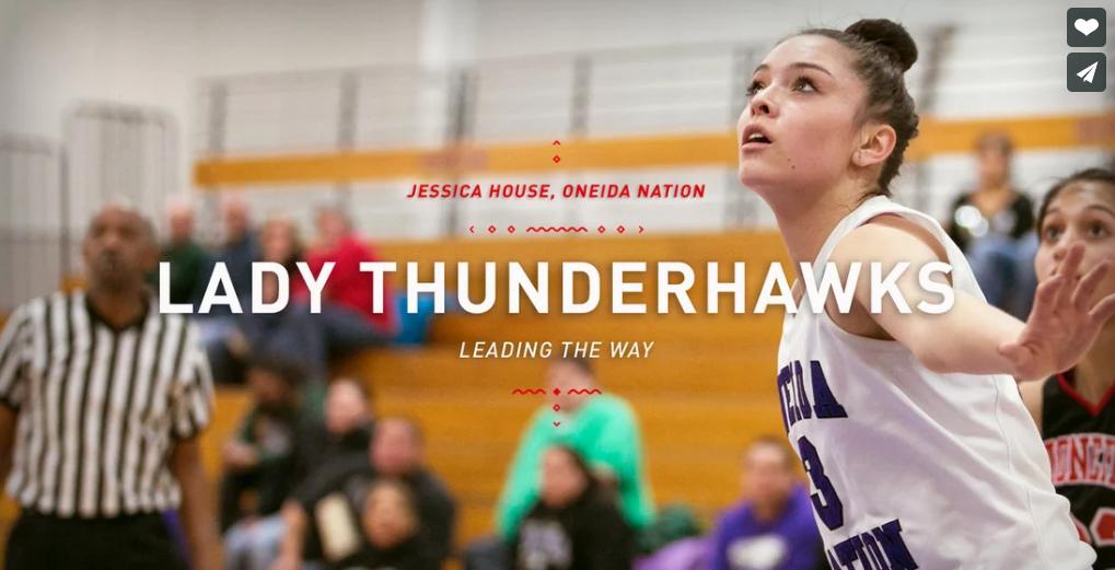 Lady Thunderhawks  ~ Jessica House - Oneida Nation