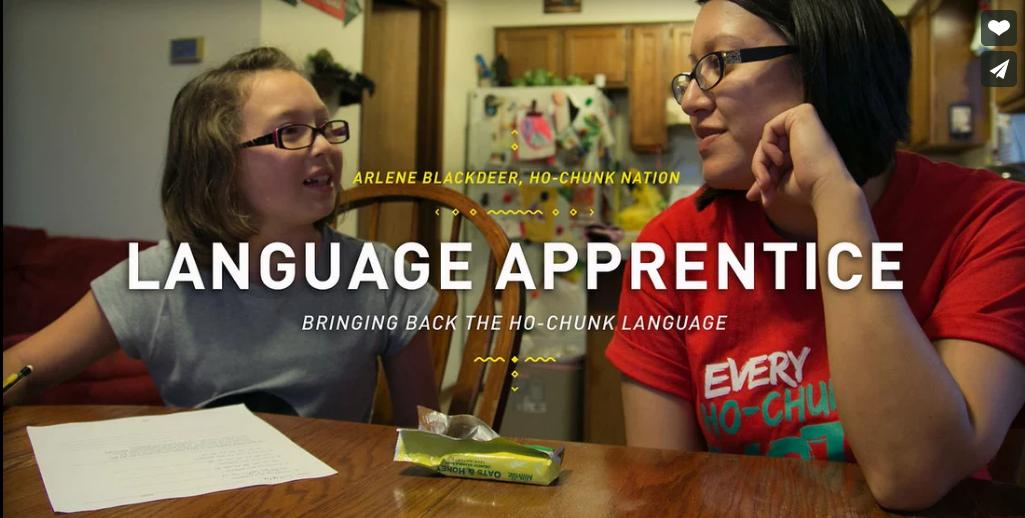 Language Apprentice  ~ Arlene Blackdeer - Ho-Chunk Nation