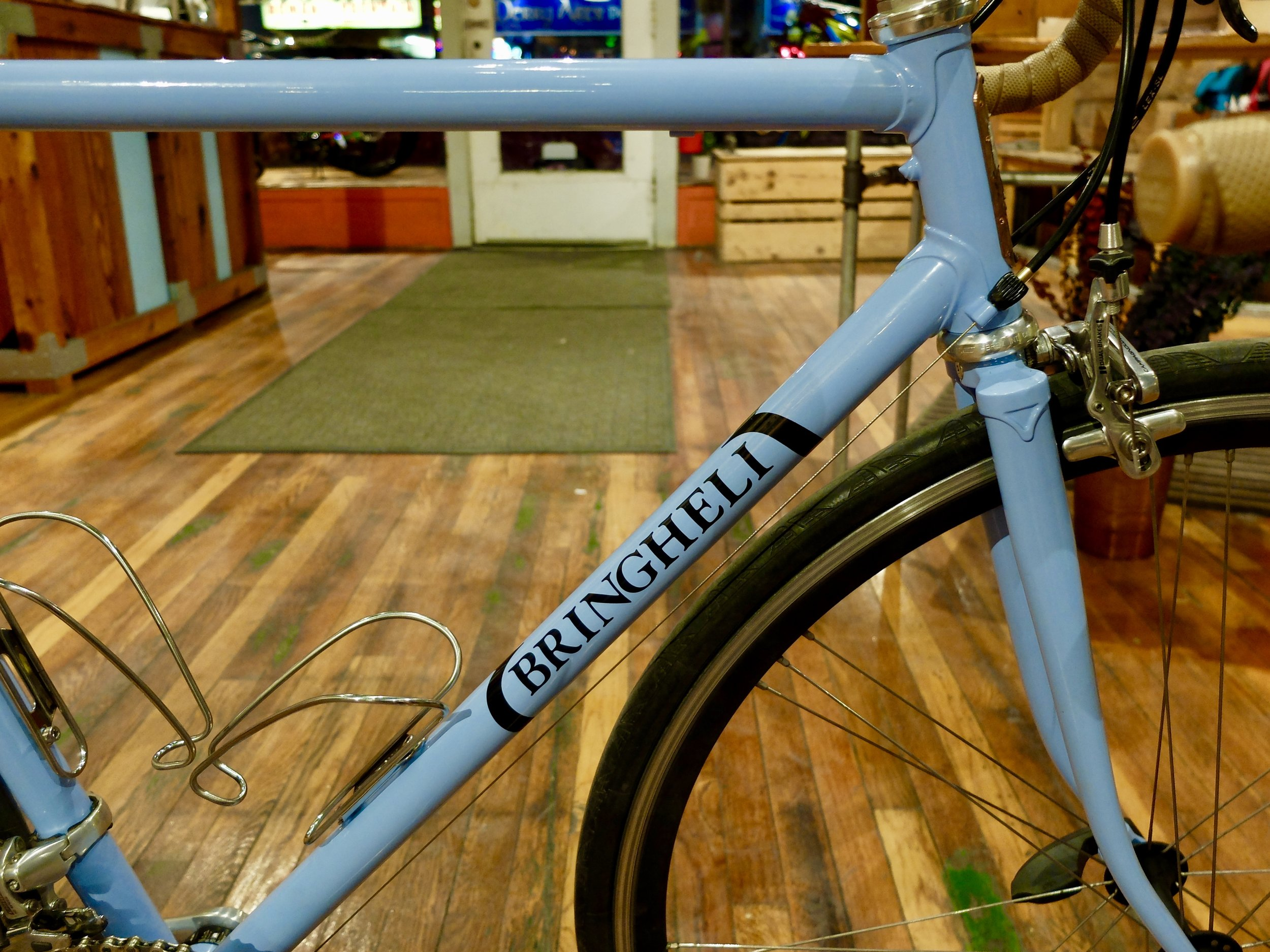 Blue Binghelli Bicycle