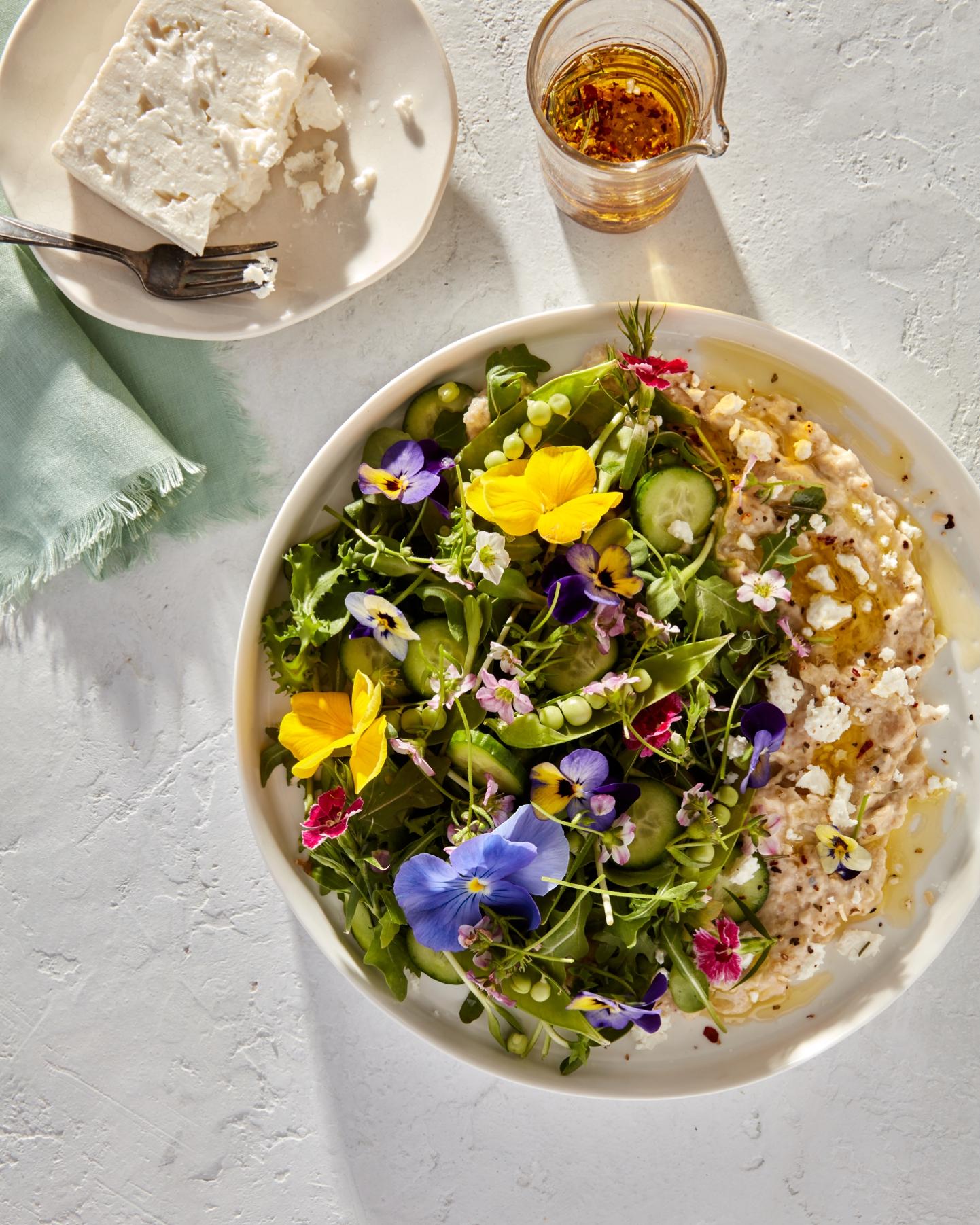 Atlanta Food Photographer ©Kathryn McCrary Photography Rachael Daylong Food Stylist Floral Salad_0005.jpg