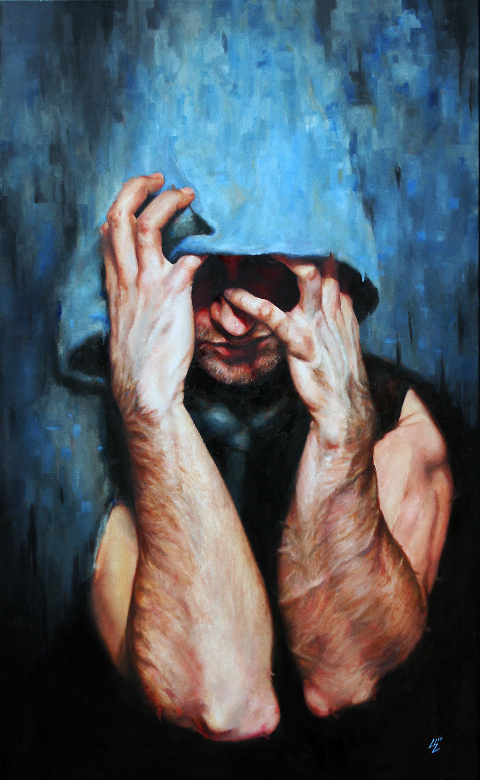 """""""Burden""""    30x48in oil on canvas"""