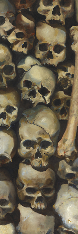 """The Killing Fields"" 12x36"" Oil on Canvas 2013 $975 or best offer"