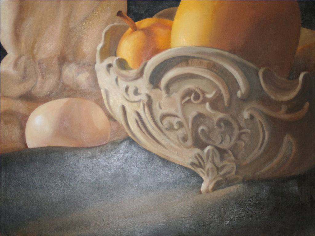 """""""Pear"""" 16x20 oil on canvas 2011 Sold"""