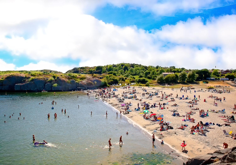 Sandstranden Oddane Sand i Nevlunghavn regnes som en av de beste i Norge.
