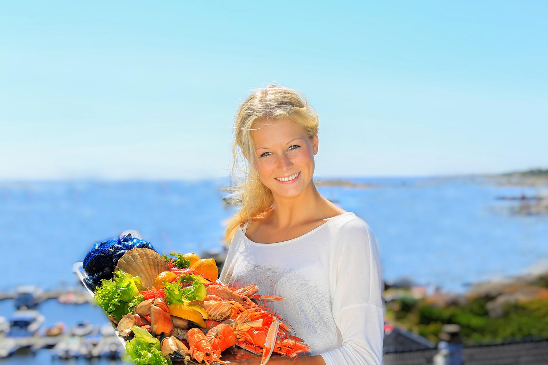 Komponer ditt eget skalldyrfat med fantastiske råvarer direkte fra fiskemottaket i Nevlunghavn.