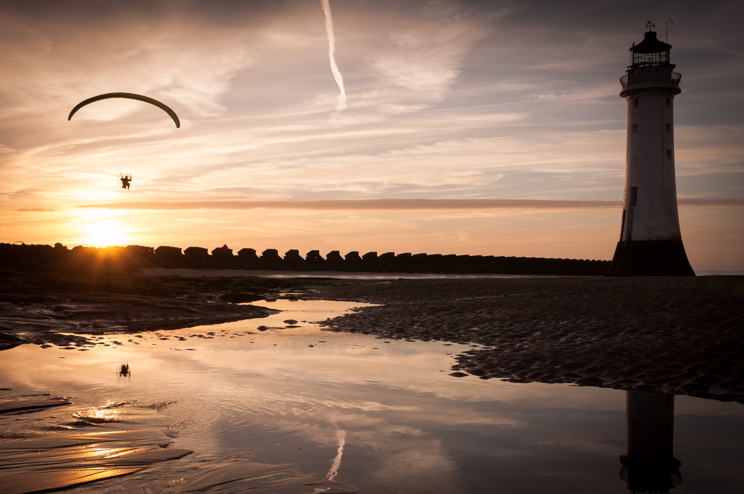 New Brighton - Paraglider