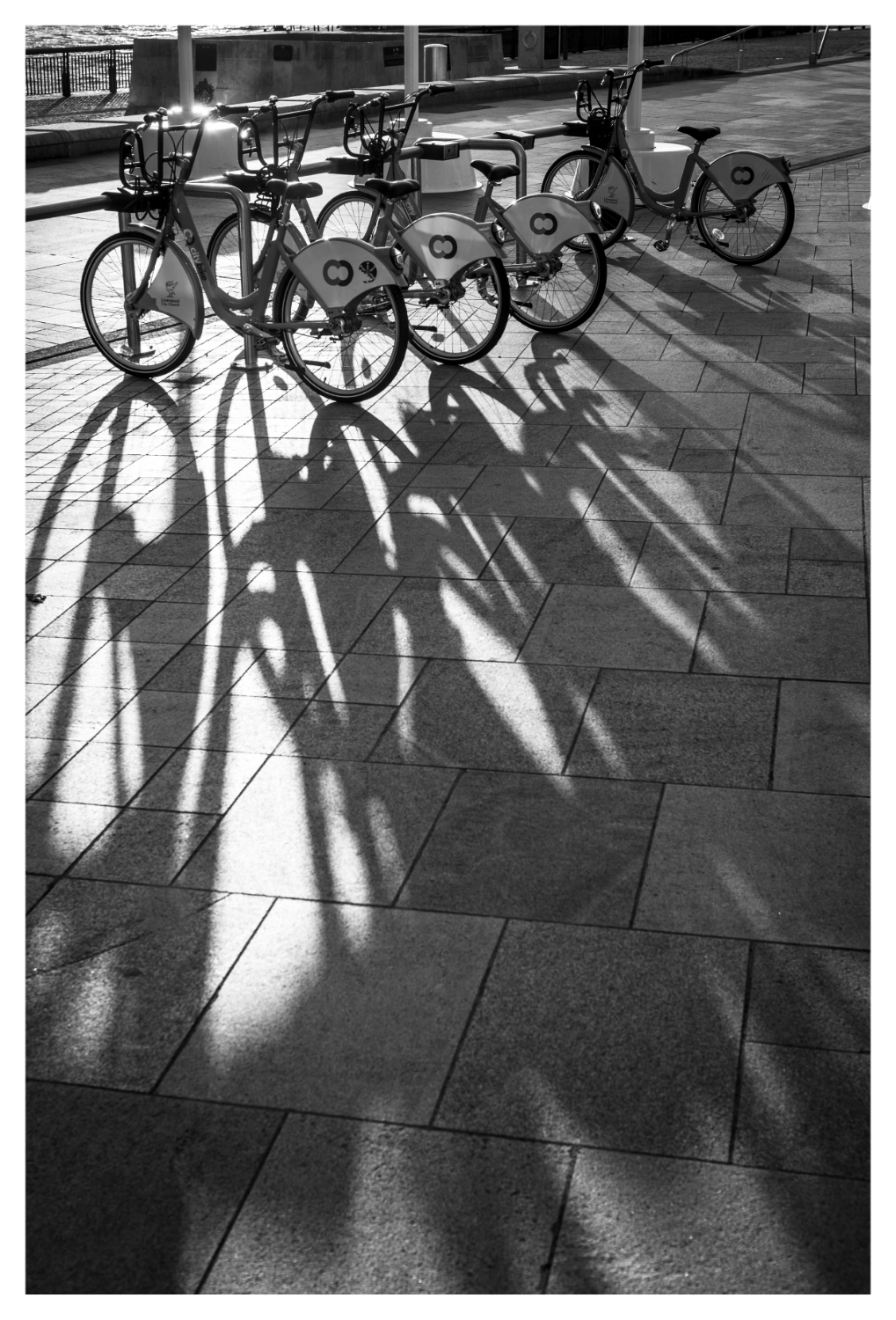 As the sun dips sunset produces long shadows. Look out for these. They can sometime be pretty interesting. Click for large image.