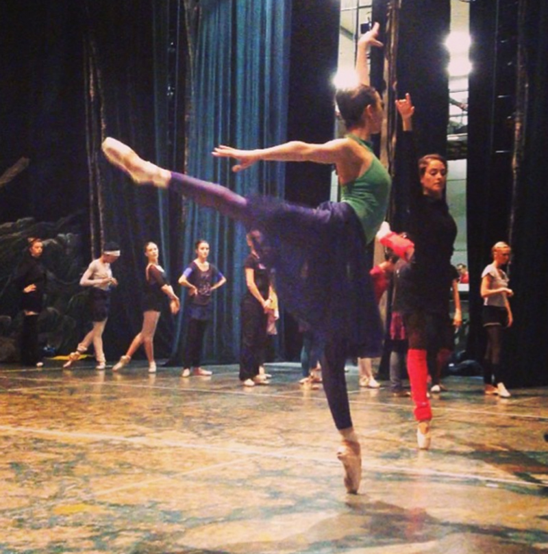 Big Swan Rehearsal