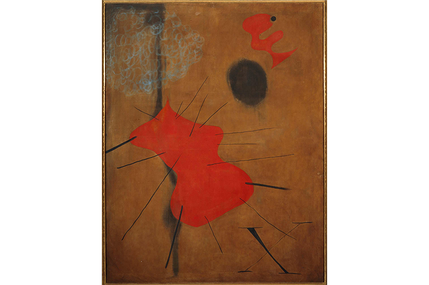Joan Miro - The Red Dot