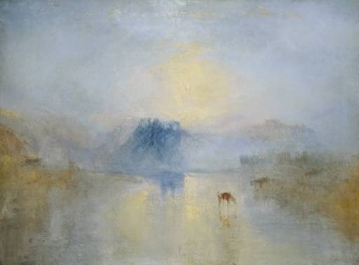 JMW Turner Norham Castle Sunrise