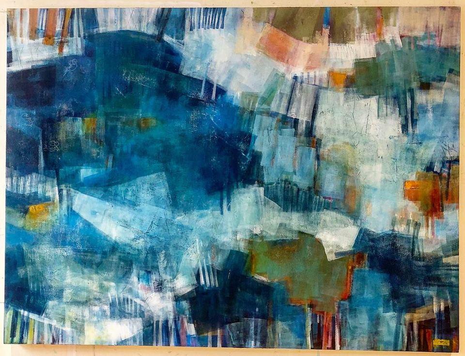 Her Head Was Always in the Clouds (36x48) Koyman Galleries - Ottawa SOLD