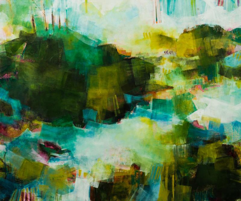 The Infinite Vitality of Green 40x48 Koyman Galleries