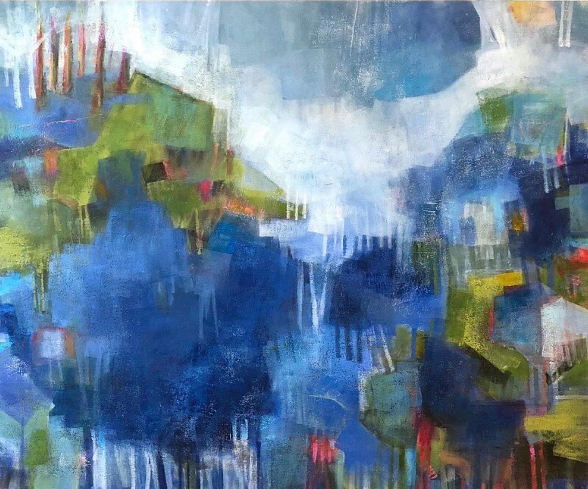 Summer Rain (40x48) Koyman Galleries - Ottawa