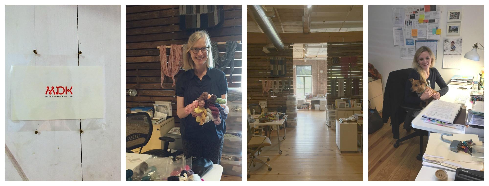 Mason Dixon Knitting World Headquarters!
