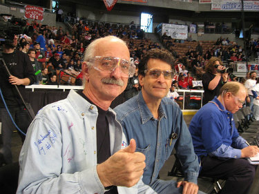 Woodie Flowers and Dean Kamen