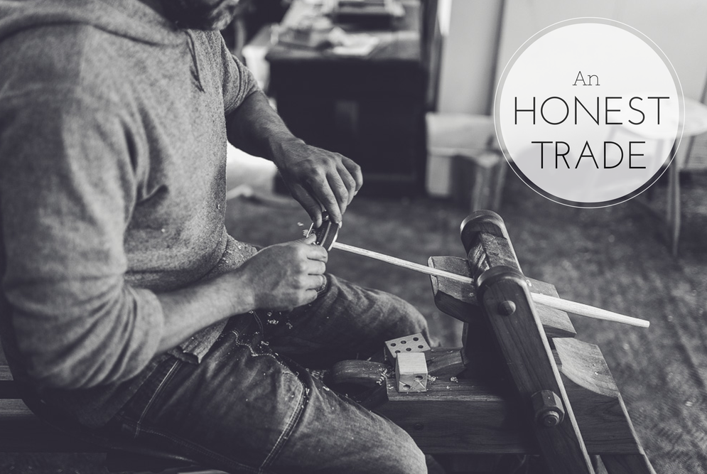 Marnie Hawson's An Honest Trade project - artisans and makers