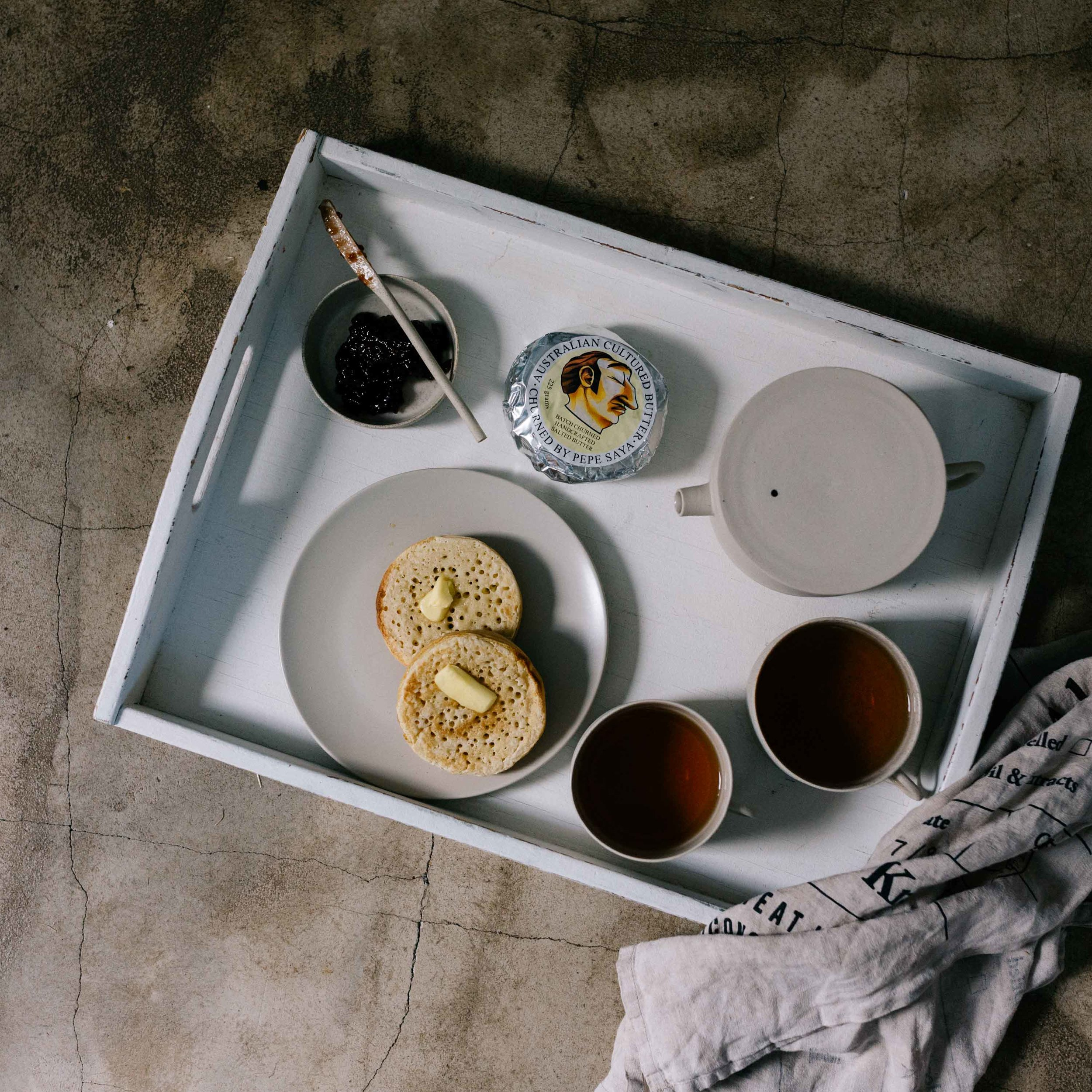 Melbourne lifestyle photographer, Marnie Hawson, for The Downtime Agenda
