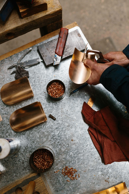 Marnie Hawson, Melbourne lifestyle photographer for Grafa Garden (copper gardening tools)