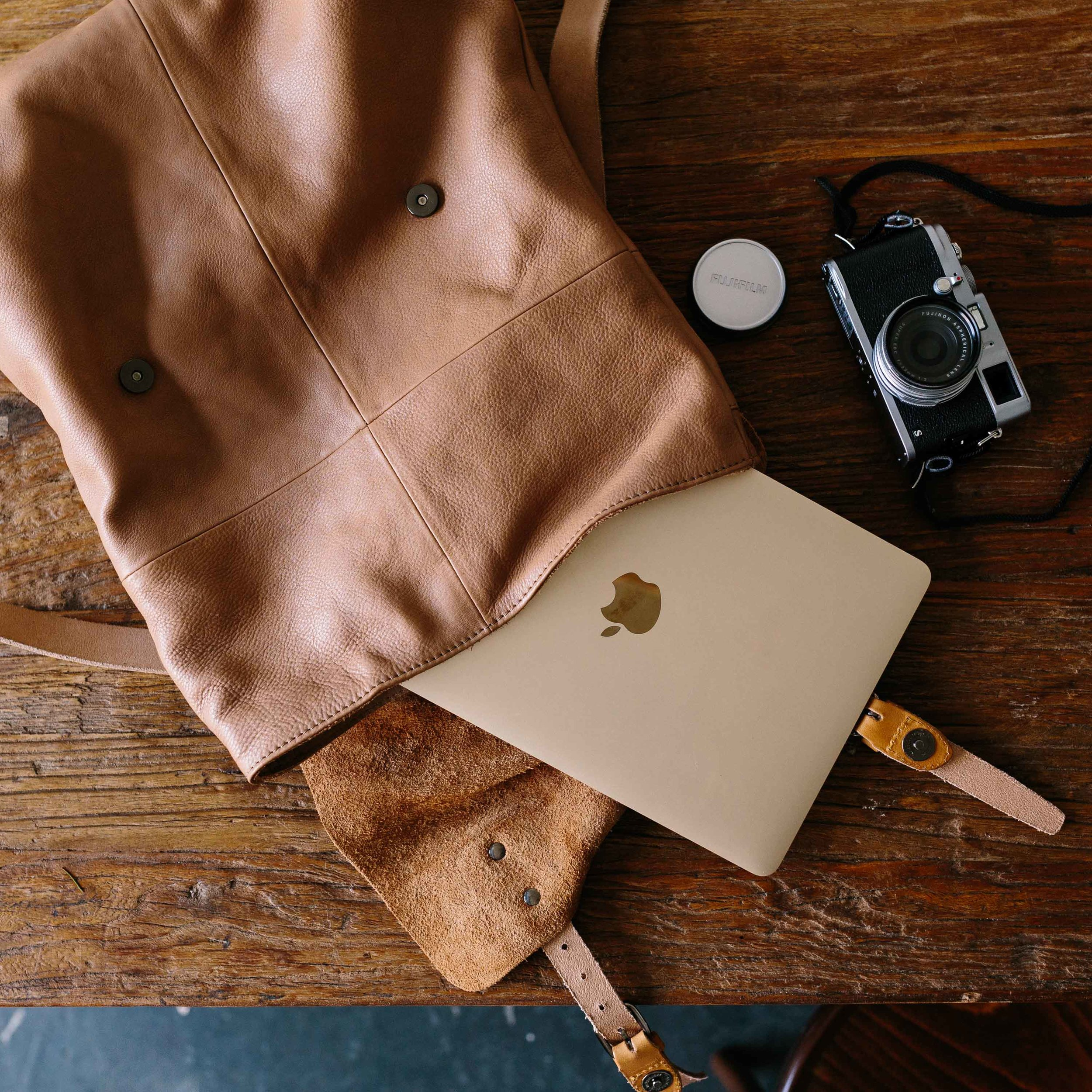 Huide leather backpack from Elk Accessories, photo by Marnie Hawson