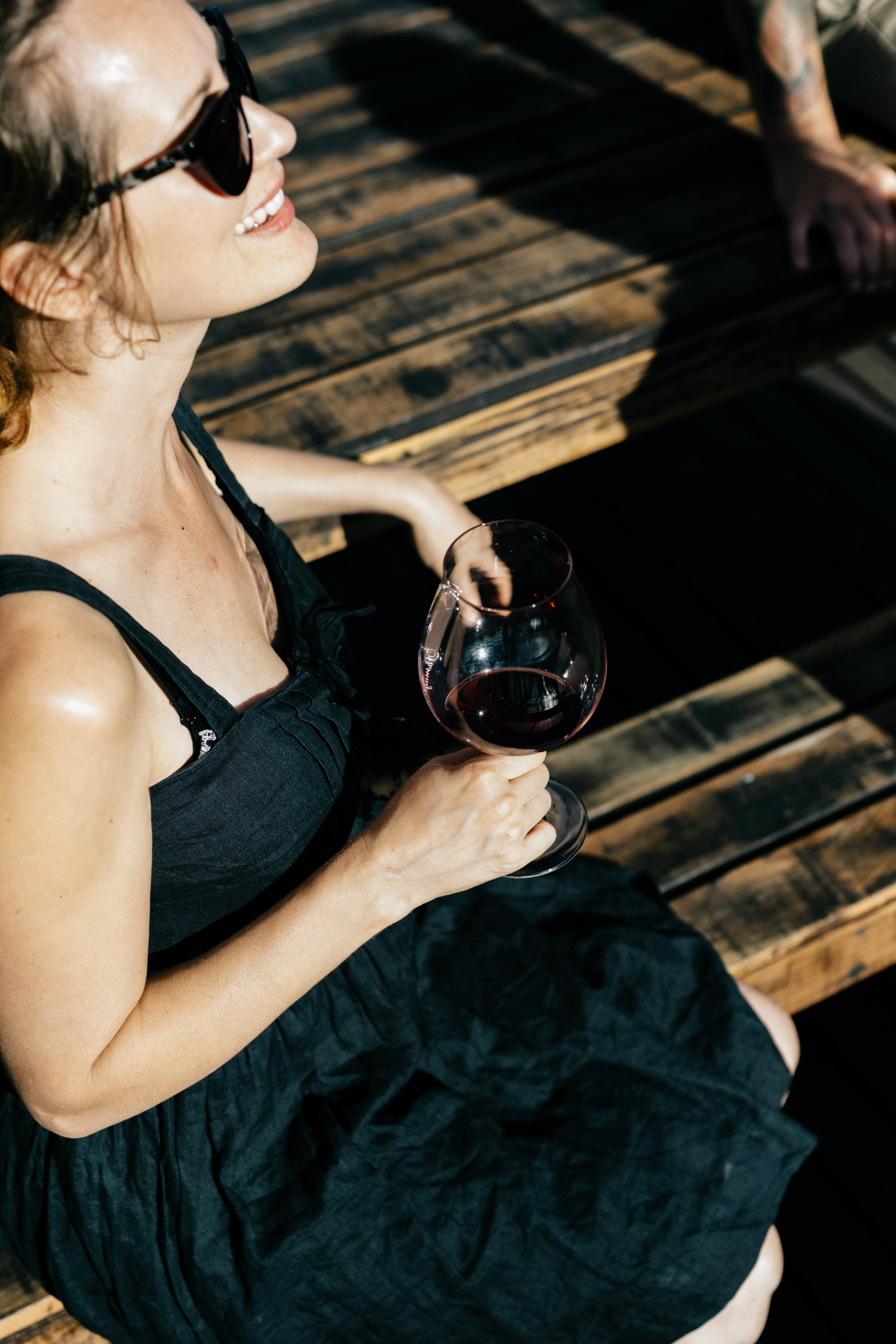 Marnie Hawson, Melbourne lifestyle photographer for Passing Clouds Winery, Musk