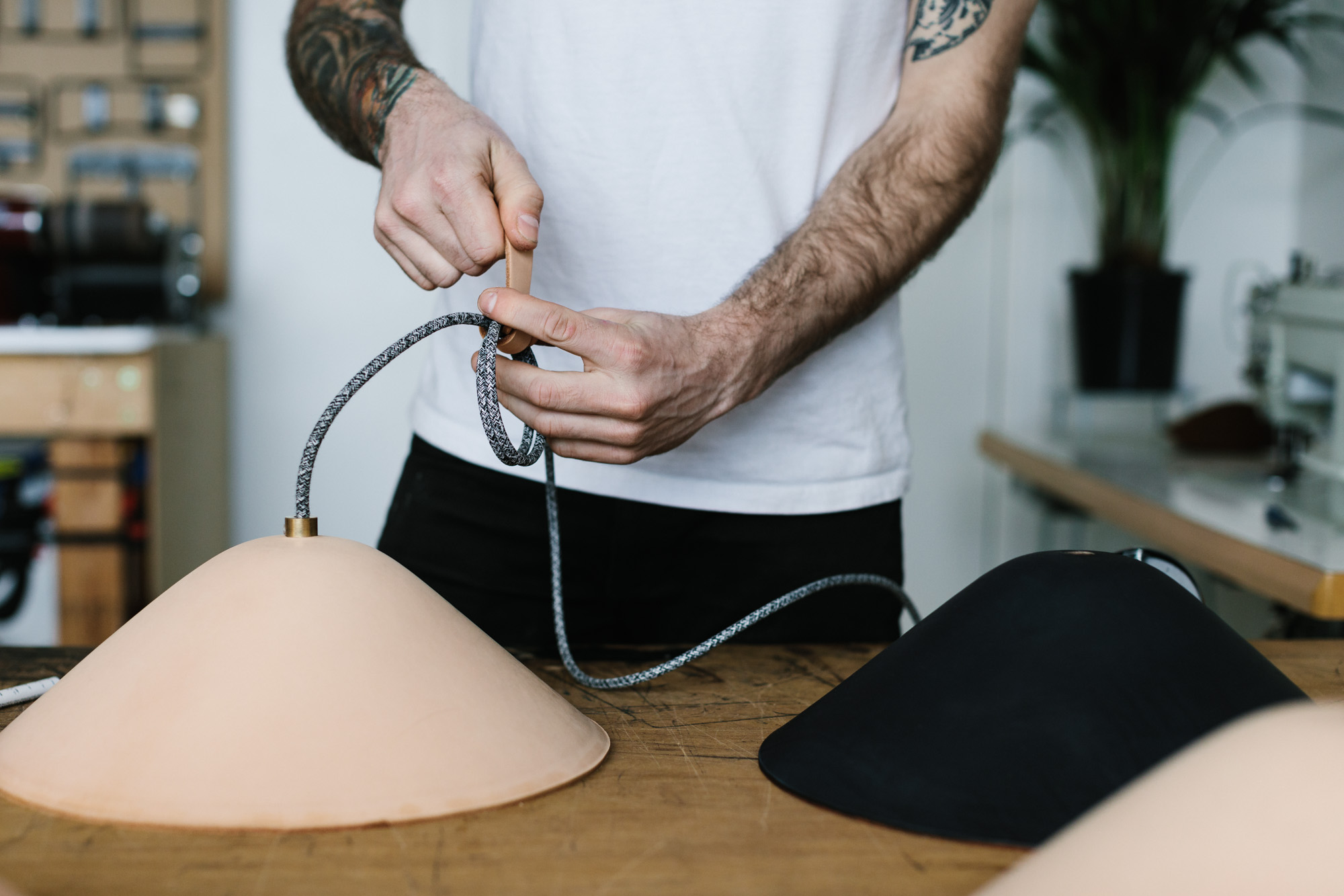 Marnie Hawson, Melbourne lifestyle photographer for The Muse and Tomorrow Agency: IE Francis, leathermaker