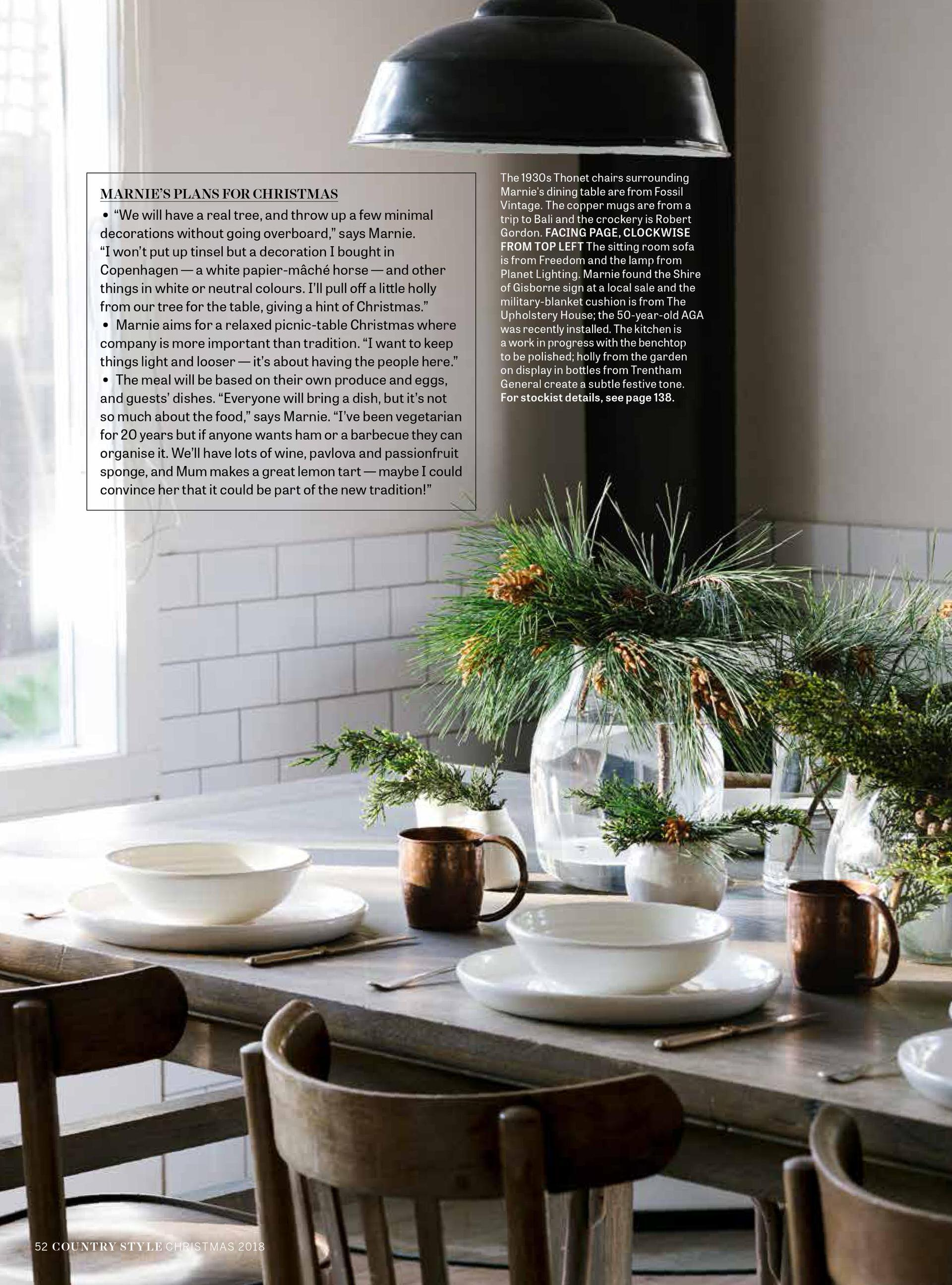 Melbourne purpose-driven interior photographer, Marnie Hawson for Country Style magazine