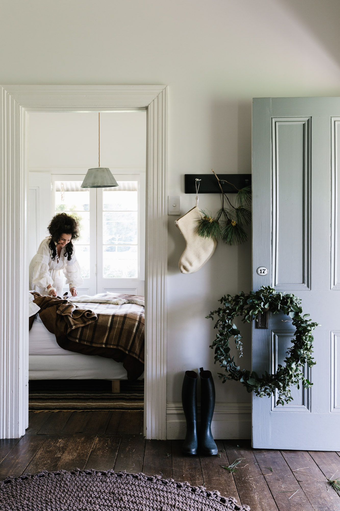 Christmas with Lynda Gardener at The Estate Trentham for  Australian House & Garden , Christmas 2018. Photography by Marnie Hawson, and styled by Inside Story.