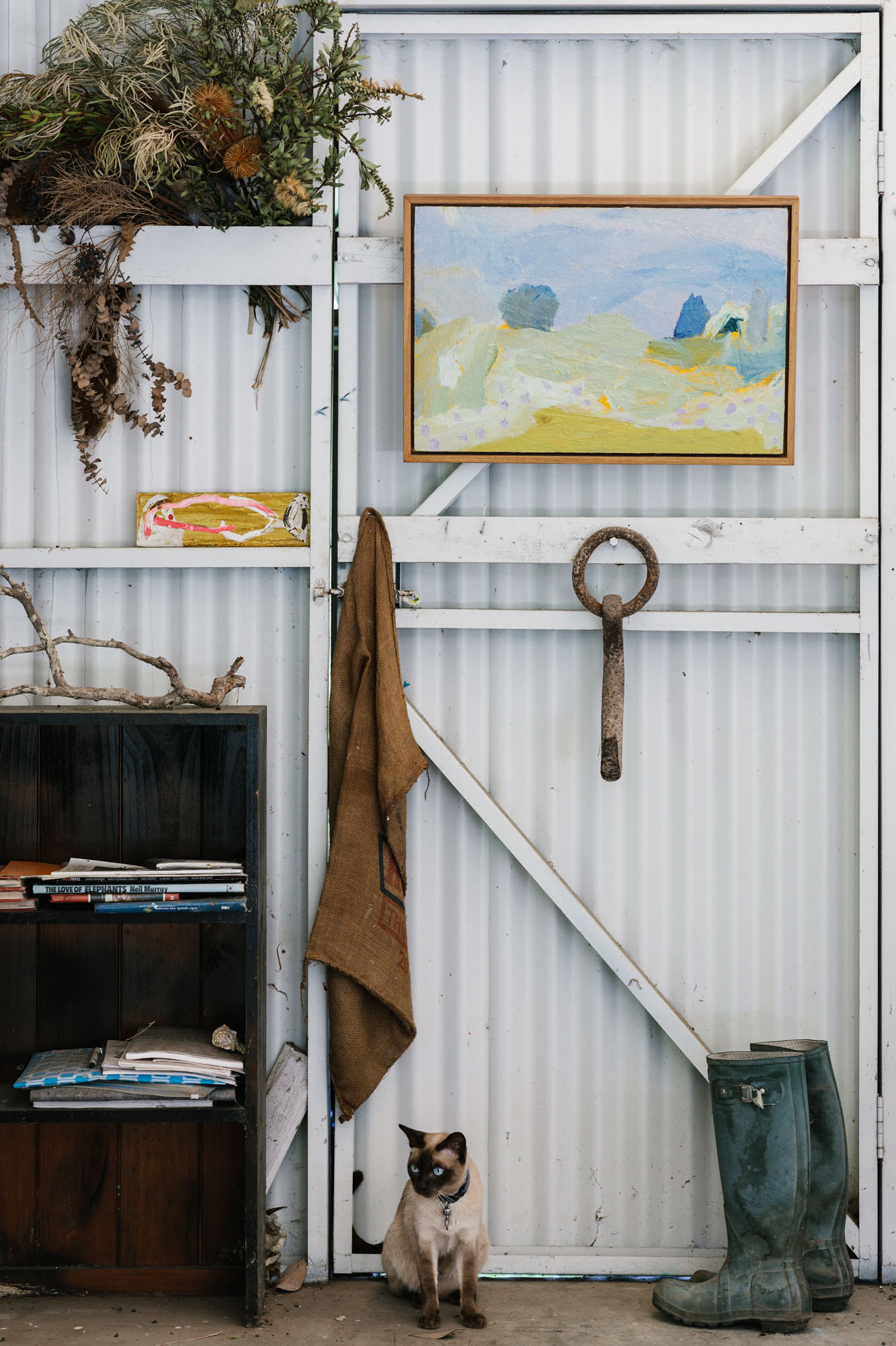 Melbourne interior photography by Marnie Hawson for Country Style and Amy Clarke artist.