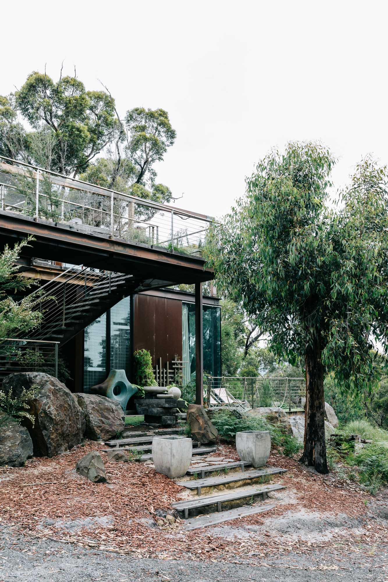 Melbourne purposed-driven photographer Marnie Hawson, for Calignee II - an off the grid eco home