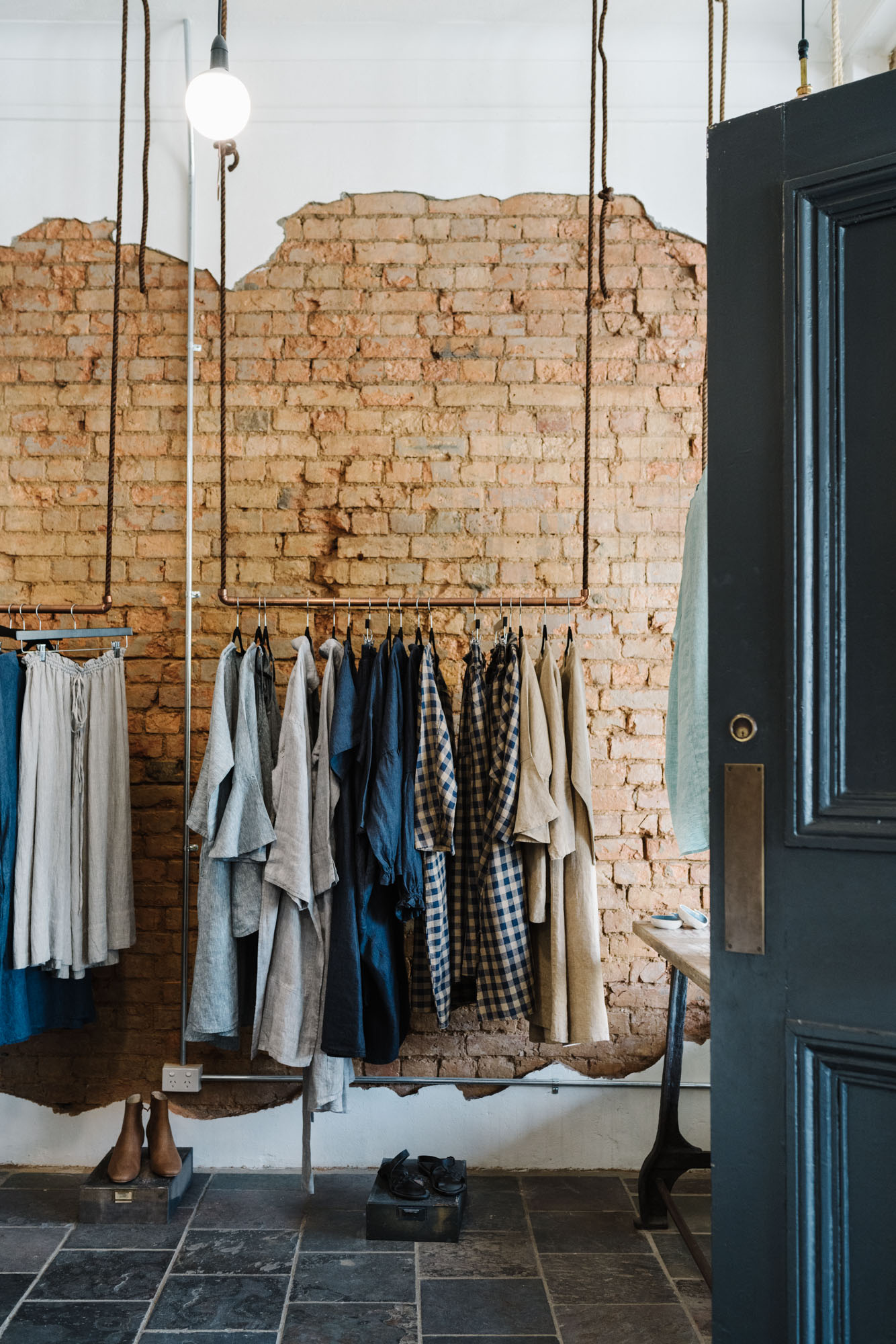 Eva's Sunday, Australian designed linen label. Photographed by Marnie Hawson for Country Style.