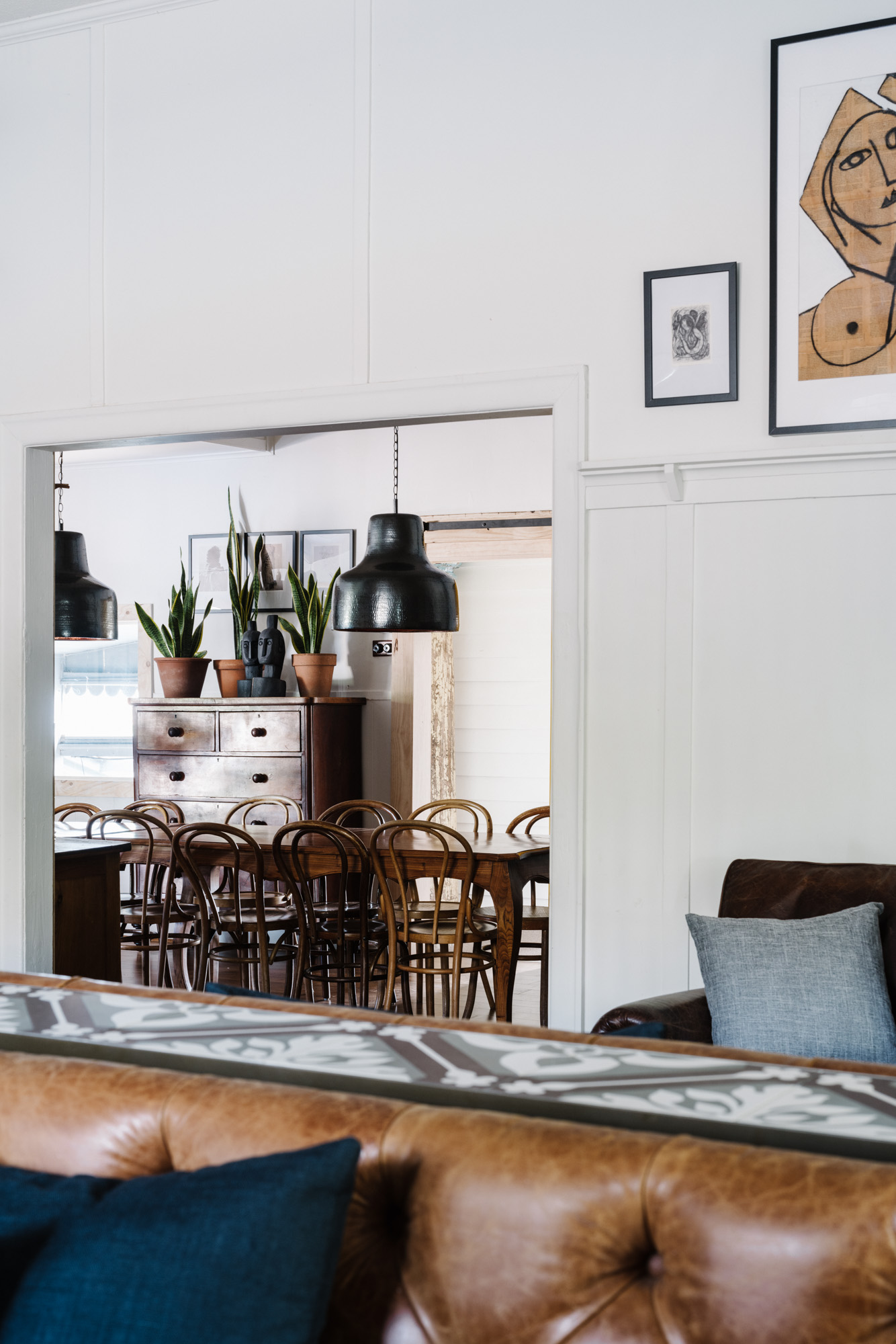 Melbourne interior photographer Marnie Hawson for The Houses Daylesford (The Oxford, Hepburn Springs)
