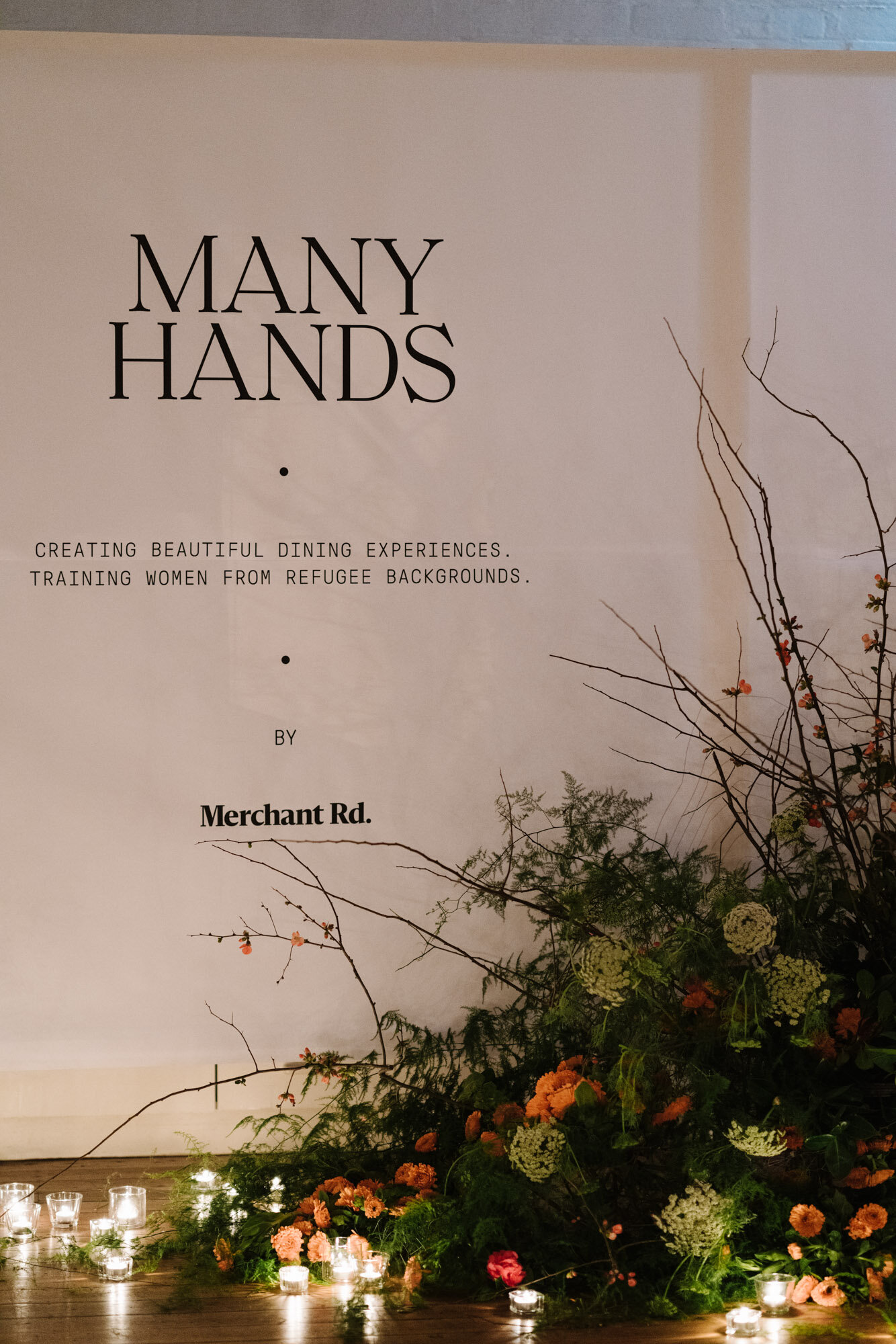 Many Hands for Merchant Road, a training program for women from refugee backgrounds. Photography by purpose-driven photographer Marnie Hawson.