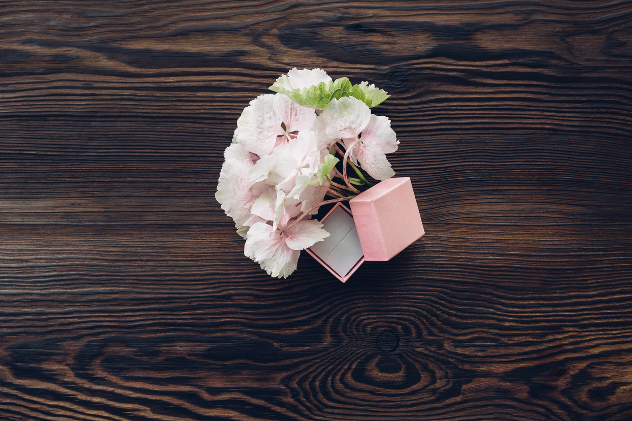 Pink-box-for-engagement-ring-and-hydrangea-on-wooden-table,-top-view.-698197372_1258x838.jpeg