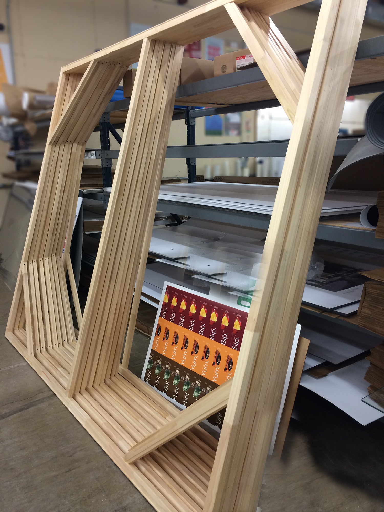 We build our own custom frames.