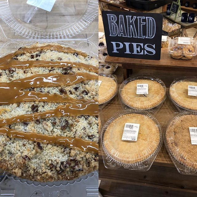 Fresh baked pies available today!