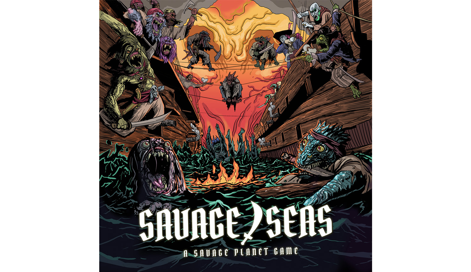 Savageseascover