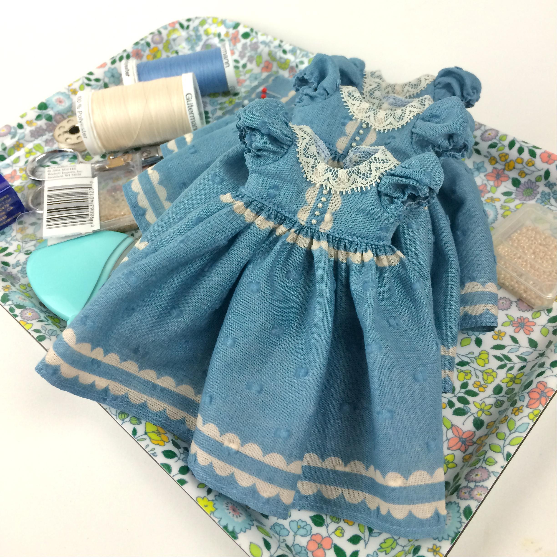 Parasol Doll Macaron Dresses In Progress
