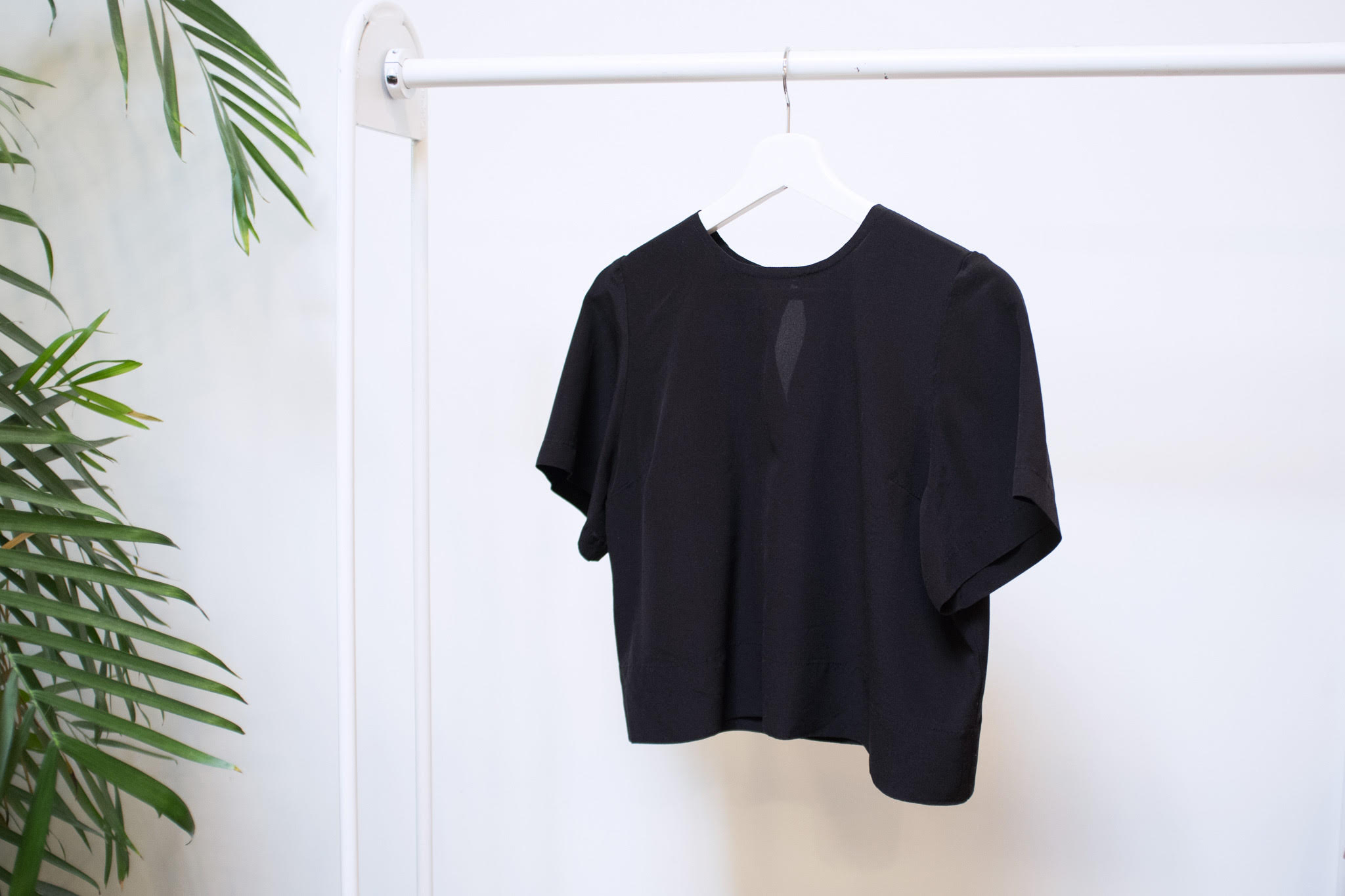 How to Sew a Basic Silk Tee -