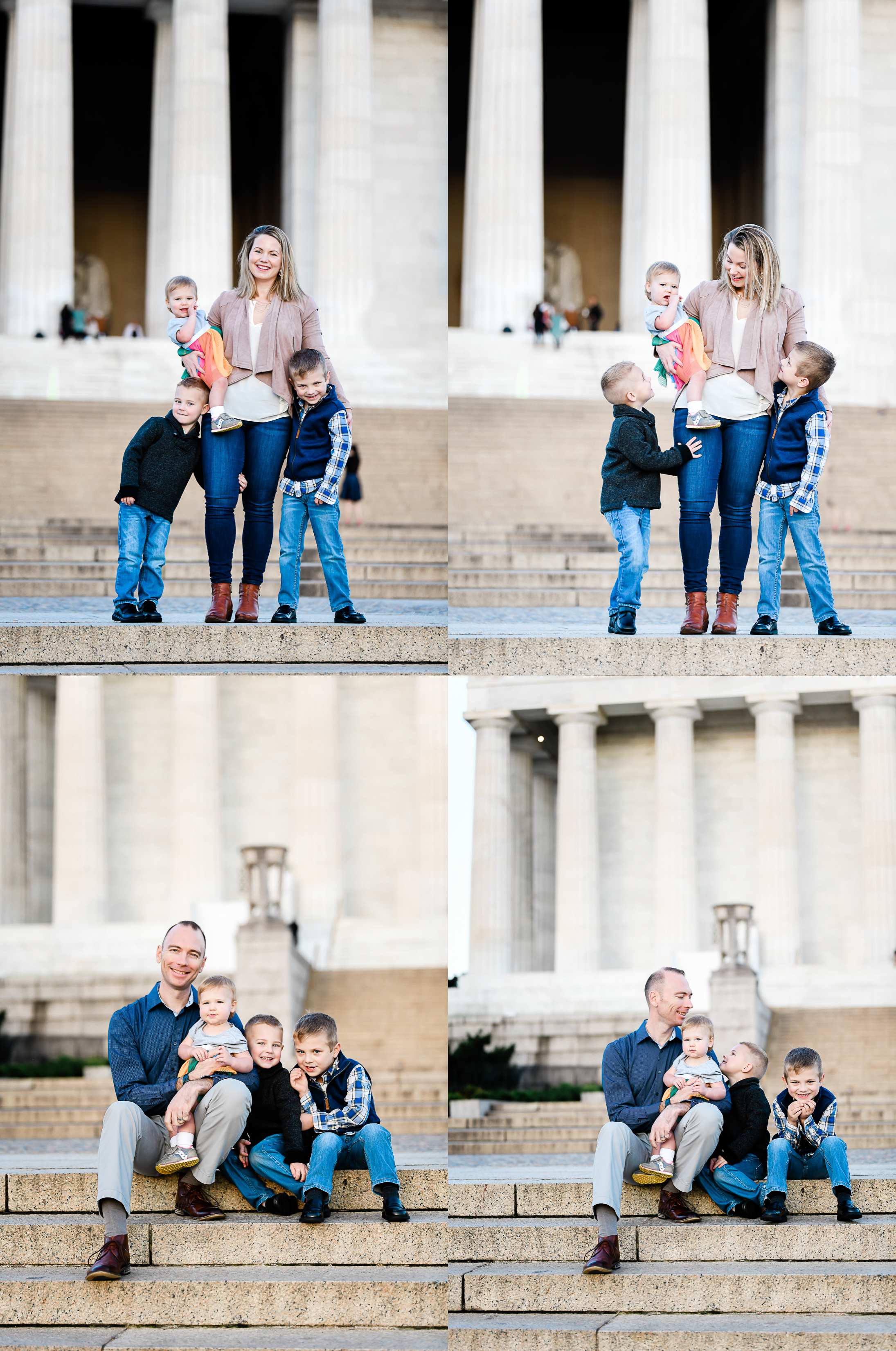 National Mall Family Photography by DCP