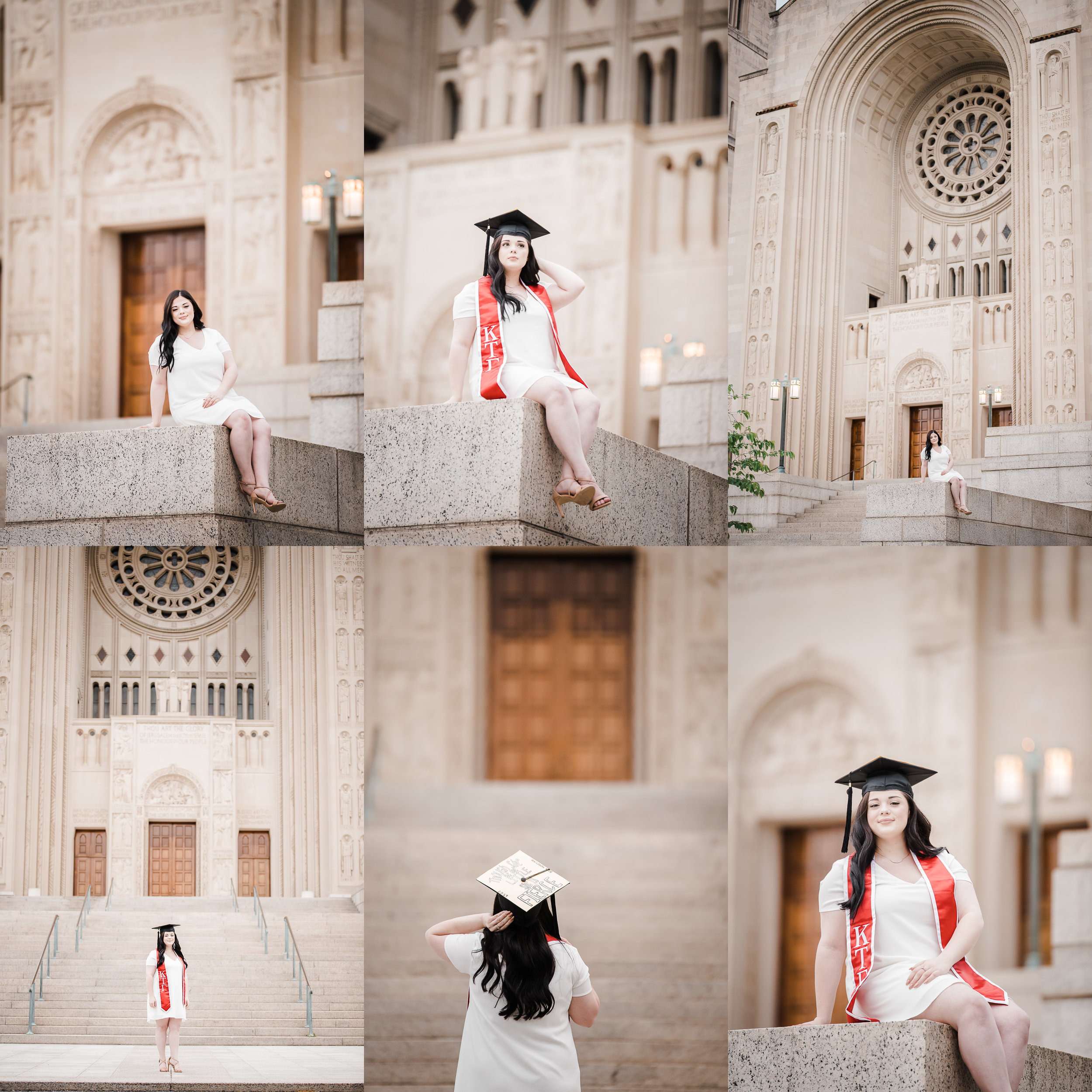 Basilica of the National Shrine of the Immaculate Conception senior photos