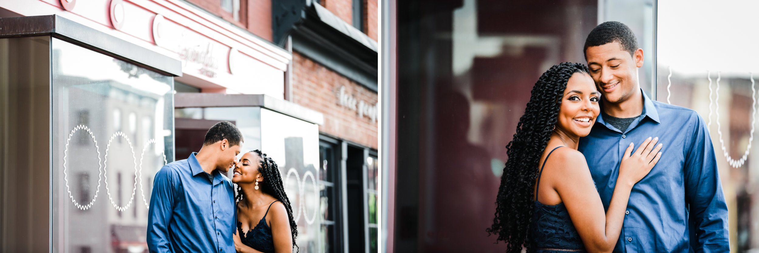 Sprinkle's cupcake in Georgetown DC engagement session